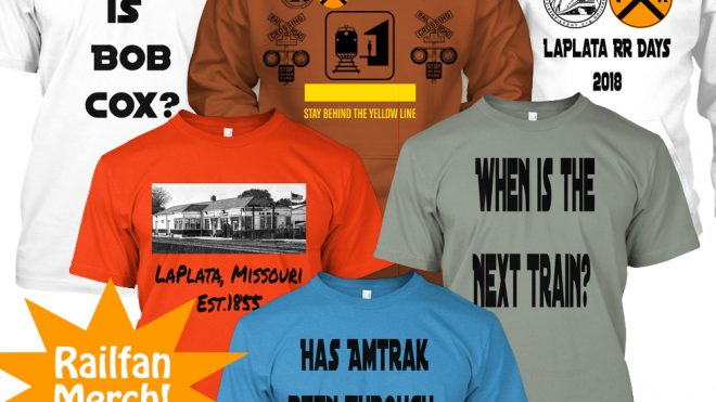 La Plata Railroad Days - T-shirts and Hoodies Available!