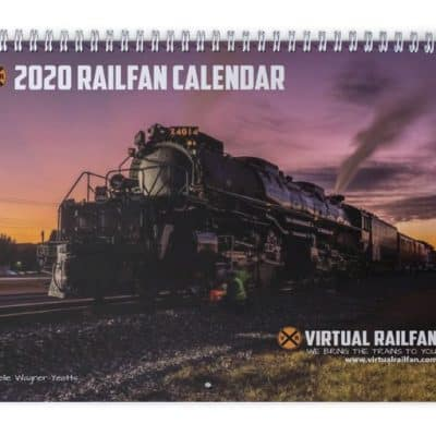 2020 Railfan Calendar is Here!