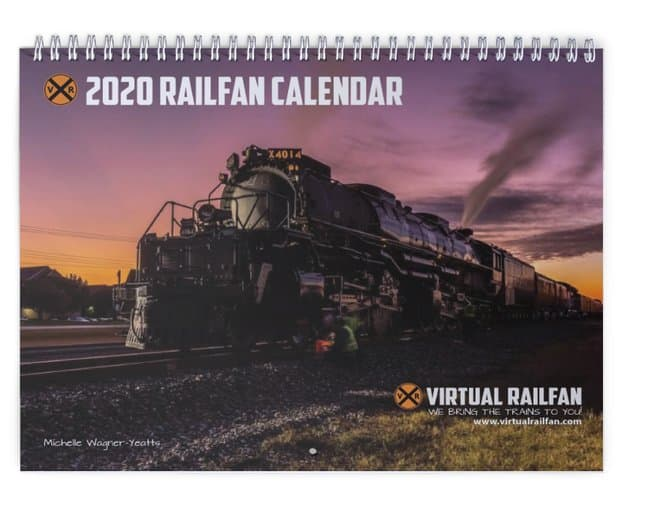2020 Railfan Calendar is Here!